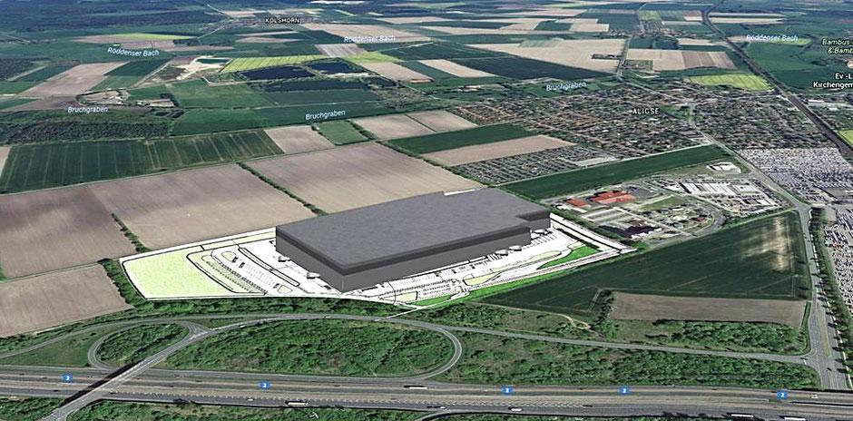 Aldi Logistikzentrum Aligse