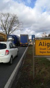 Verkehrssituation in Aligse und Lehrte