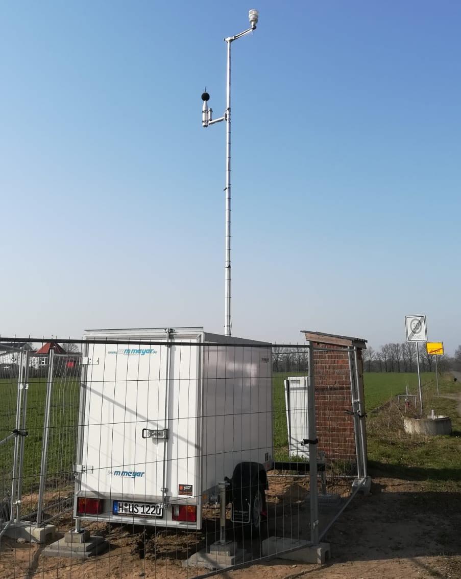 Einrichtung Lärmmessstation in Aligse